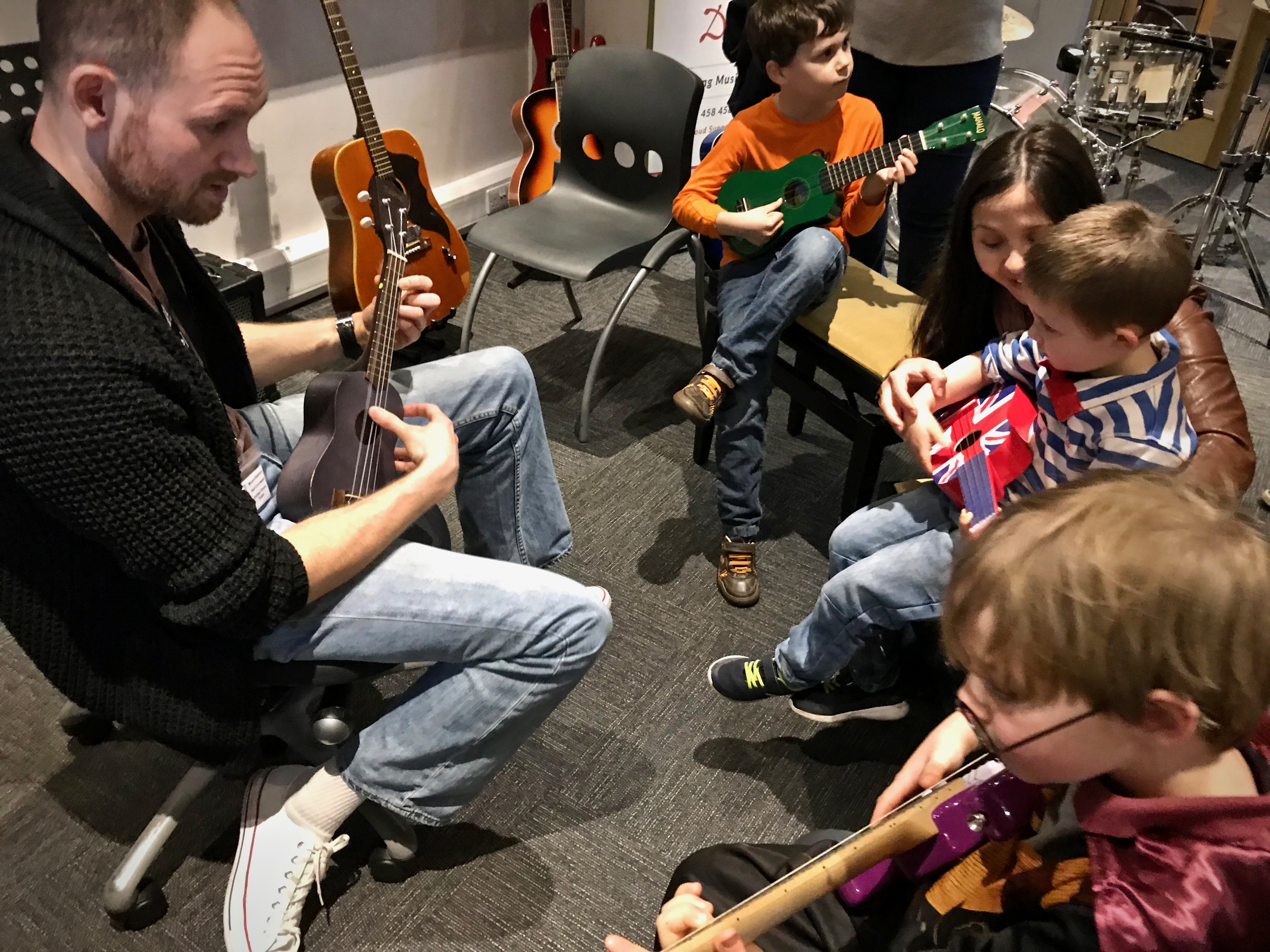 MusicStation Ukulele Lesson